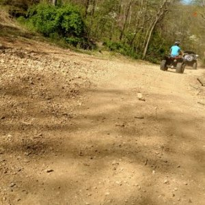 Brush Creek OHV recreattion area, Southern Missouri